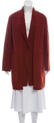Rag & Bone Wool-Blend Knee-Length Coat w/ Tags