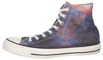 Converse Missoni x Metallic High-Top Sneakers
