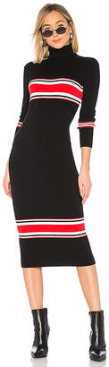 Free People Sport Stripe Midi Dress