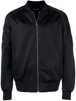 Versace Medusa head bomber jacket