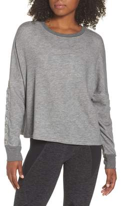 Beyond Yoga Laced Sleeve Pullover
