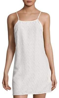 Onia Sasha Eyelet Coverup Dress