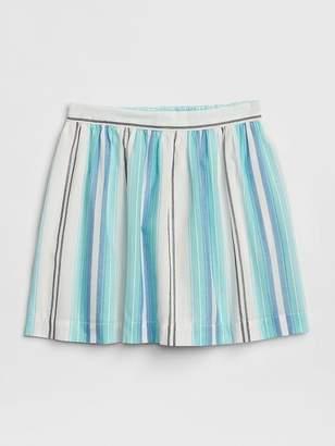 Gap Stripe Flippy Skirt