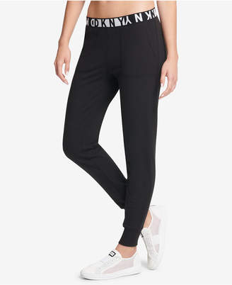 DKNY Sport Slim Logo Sweatpants