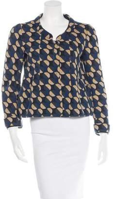 Marni Patterned Knit Jacket