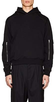 GmbH Men's Cotton Pocket-Sleeve Hoodie