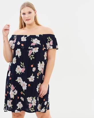 Bardot Blossom Dress