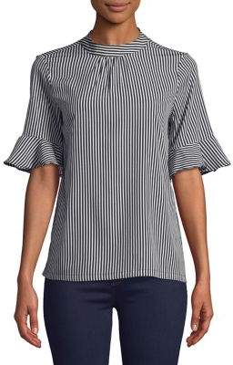 Vero Moda Printed Short-Sleeve Top