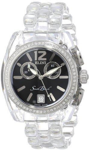South Beach Elini Barokas Women's BK2616SLVPCB Watch