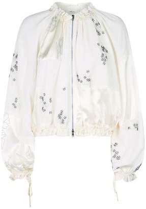 3.1 Phillip Lim Embellished Silk Bomber Jacket