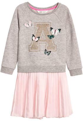 H&M Sweatshirt Dress - Pink
