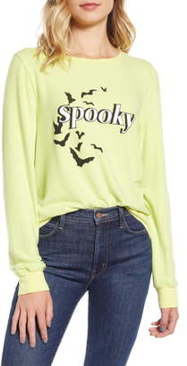 Wildfox Couture Spooky Baggy Beach Jumper Pullover