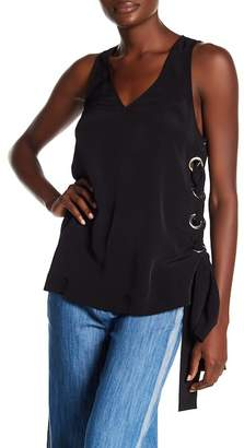Rachel Roy Lace-Up Tank Tunic