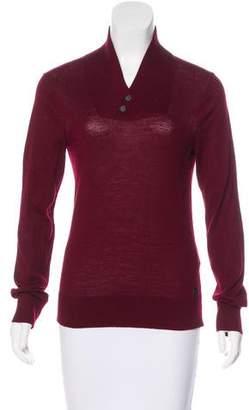 Armani Exchange Wool-Blend Knit Sweater