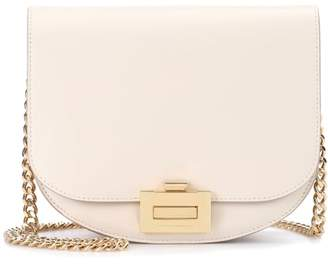 Victoria Beckham Box With Chain leather shoulder bag