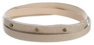 Ulla Johnson Skinny Leather Double Wrap Belt