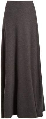 The Row Oda stretch-cashmere skirt