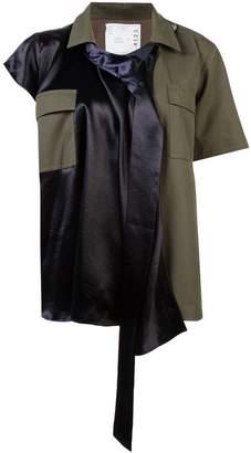 Sacai layered shirt