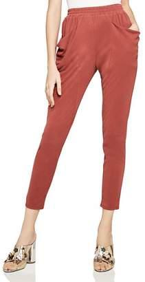 BCBGeneration Rib-Knit Tapered Pants