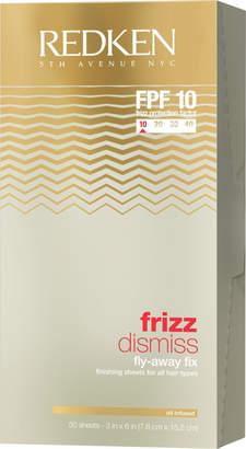 Redken Frizz Dismiss Fly-Away Fix Finishing Sheets 50 Ct