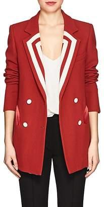 BLAZÉ MILANO Women's Everyday Wool Double-Breasted Blazer