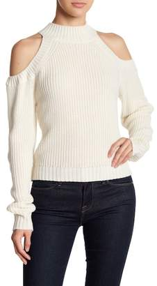 BB Dakota Cold Shoulder Sweater