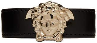 Versace Black Large Medusa Bracelet