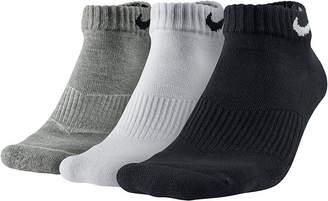 Nike 3-pk. Performance Cotton Low-Cut Socks