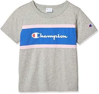 Champion (チャンピオン) - [チャンピオン] 切り替えTシャツ CS4961 オックスフォードグレー 日本 120 (日本サイズ120 相当)