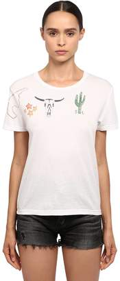 Saint Laurent (サン ローラン) - SAINT LAURENT コットンジャージーTシャツ