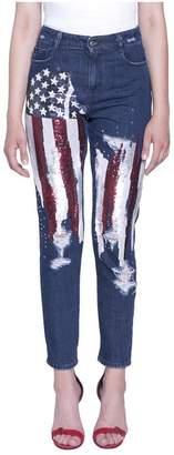 Amen Cotton Denim Jeans