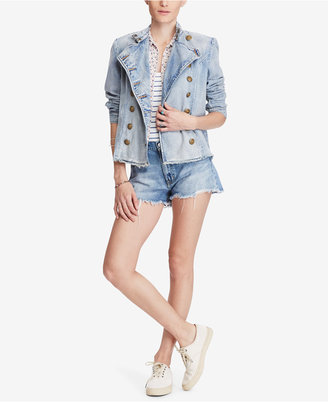 Denim & Supply Ralph Lauren Cotton Officer Jacket $298 thestylecure.com