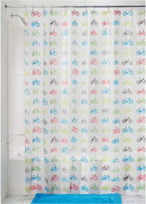 "InterDesign Bikes 72"" x 72"" Shower Curtain"