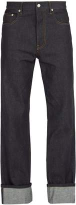Helmut Lang Turn up straight-leg jeans