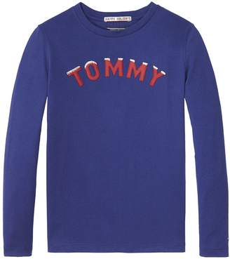 Tommy Hilfiger TH Kids Holiday Long-Sleeve Tee