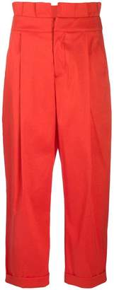 Marc Ellis high-waisted trousers
