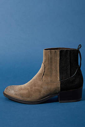 Anthropologie Morena Gabrielli Colorblocked Boots