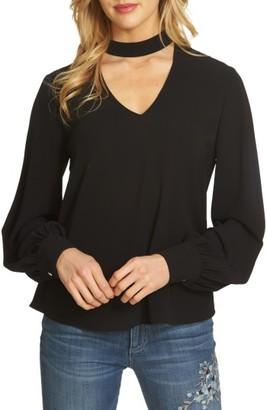 Women's Cece Choker Blouse $79 thestylecure.com