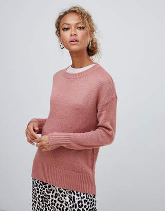 New Look jumper in pink