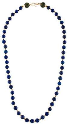 Lapis 14K Lazuli & Maw Sit Sit Beaded Necklace
