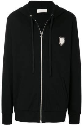 Ih Nom Uh Nit long embroidered hoodie