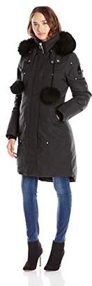 Moose Knuckles Women's Sterling Parka With Fur Trim Hood $749.44 thestylecure.com