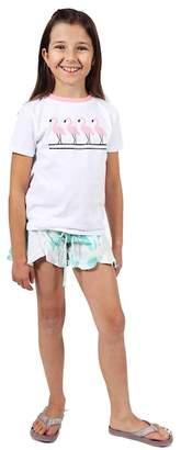 Limeapple Sport Tie Dye Shorts (Little Girls & Big Girls)