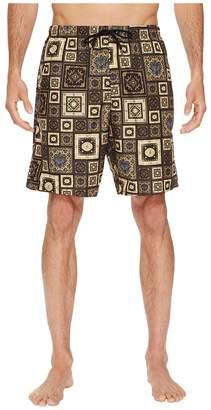 Versace Printed Beach Long Shorts Men's Swimwear