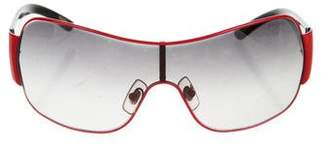 Ralph Lauren Gradient Shield Sunglasses