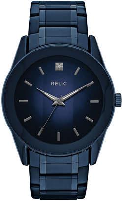 RELIC Relic Mens Blue Bracelet Watch-Zr77281