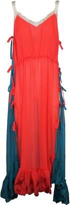 Marco De Vincenzo Tie Detailed Dress