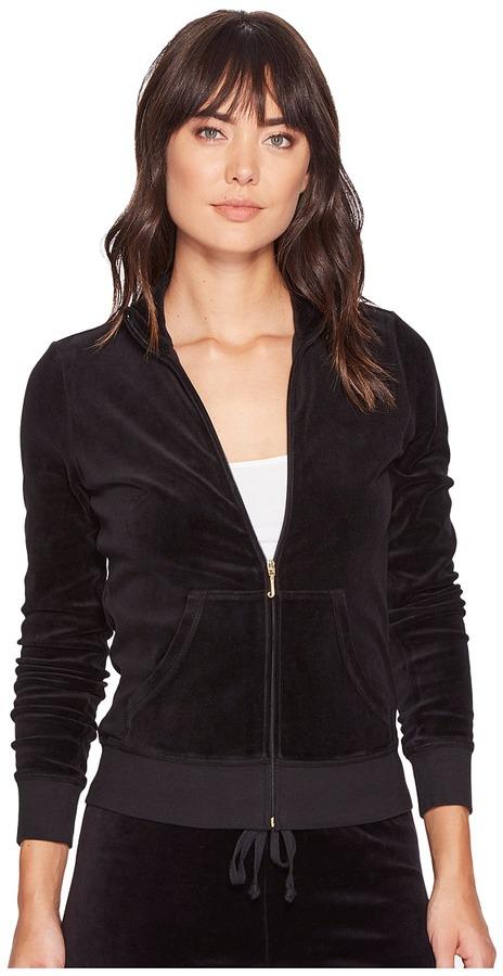 Juicy CoutureJuicy Couture - Fairfax Velour Jacket Women's Coat