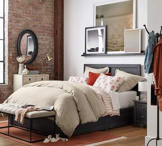 Pottery Barn Tacoma Storage Platform Bed Frame