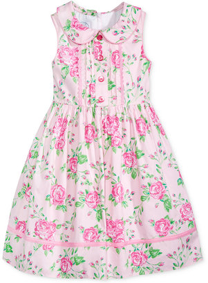 Laura Ashley Floral Dress, Toddler & Little Girls (2T-6X) $52 thestylecure.com